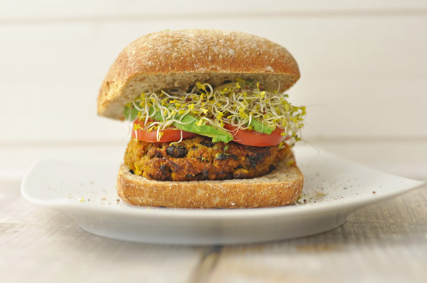 Sweet Potato & Black Bean Burgers
