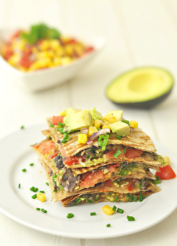 food is the ultimate comfort food and these black bean quesadillas ...
