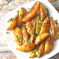 Baked Potato Wedges thumbnail